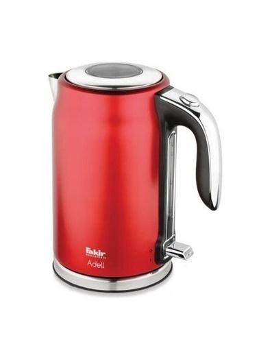 Fakir Adell Kırmızı 2200 W 1.7 lt Çelik Kettle Renkli